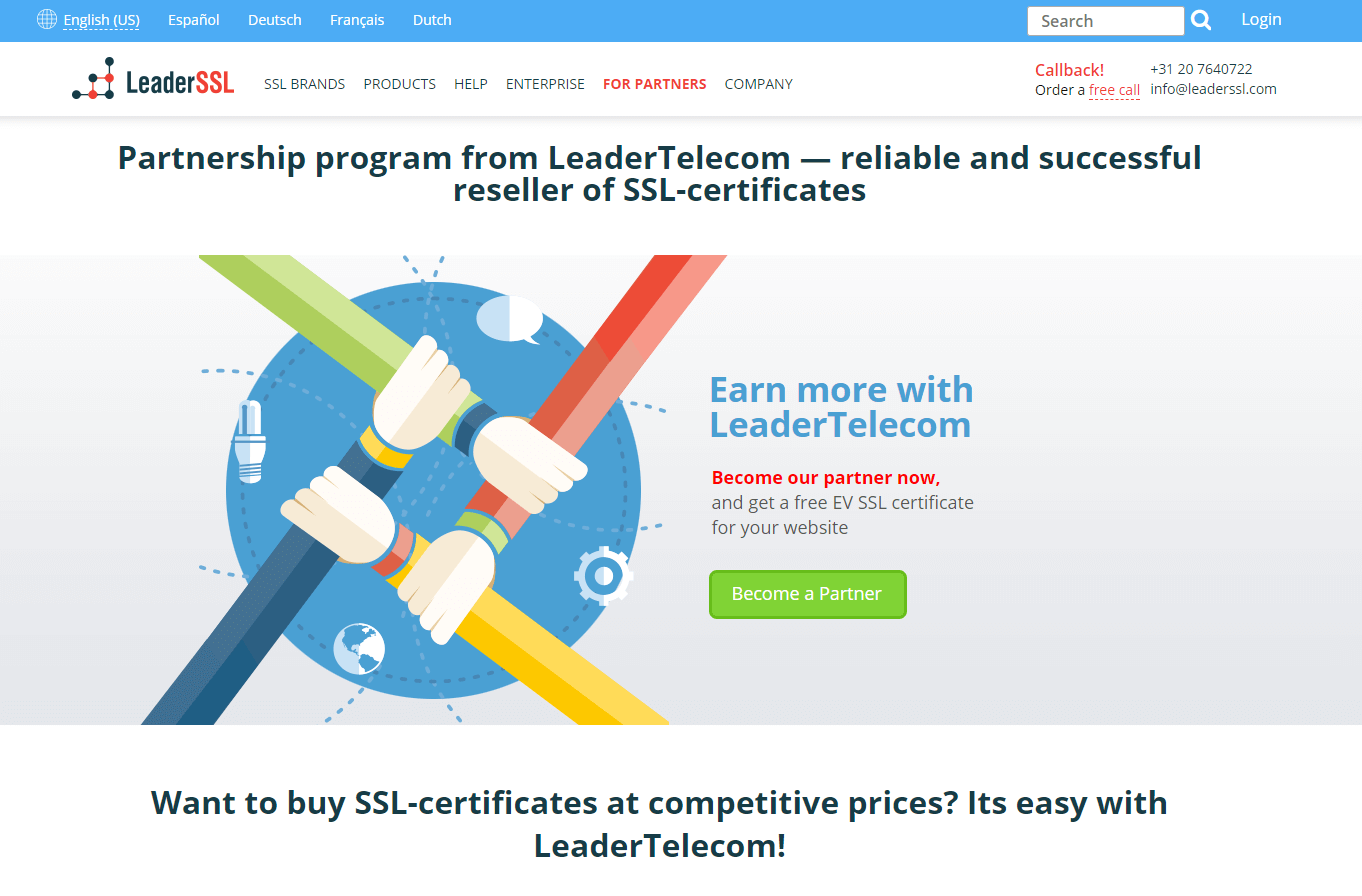 Leader Telecom Reselling program