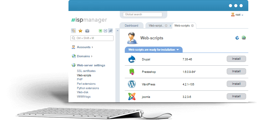 Ispmanager best web hosting linux server control panel web hosting linux server control panel maxwellsz