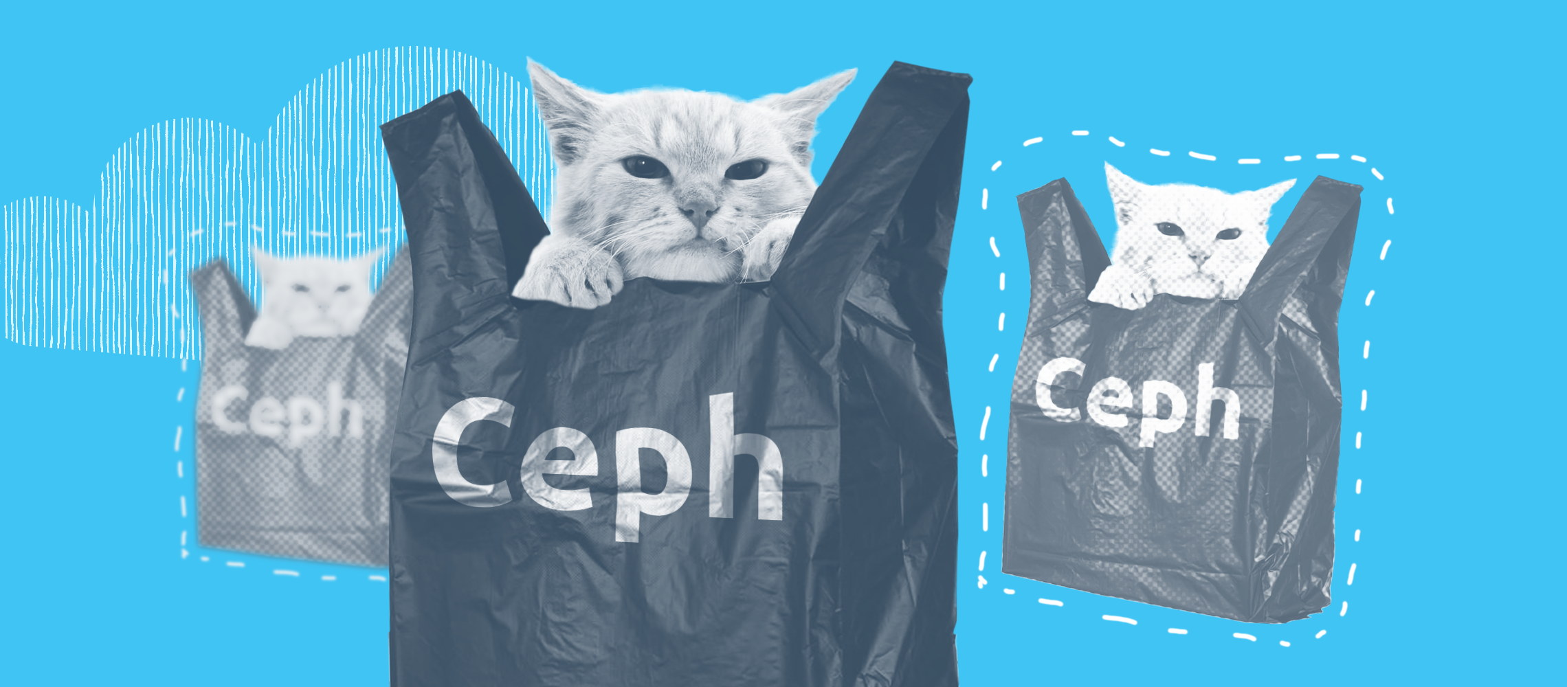 Ceph-based budget storage without buying data storage systems